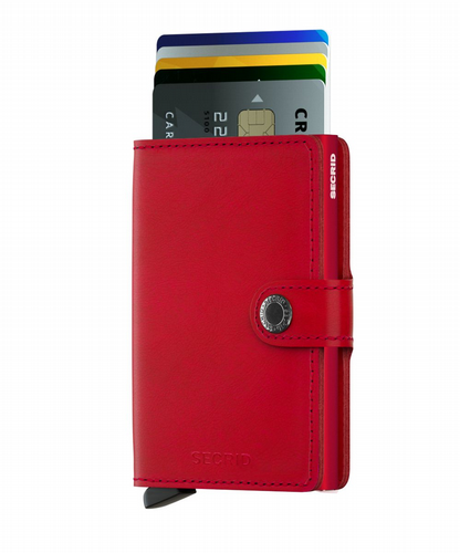 Miniwallet - Original - Red & Red